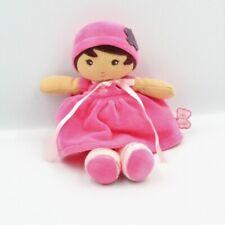 Doudou poupée beige rose rayé KALOO 25 cm - Poupée - Lutin Classique