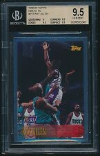 1996-97 Topps NBA at 50 rookie #217 Ray Allen rc BGS 9.5