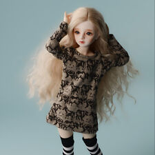 Dollmore 1/4 BJD dress sweater MSD - Stag Tshirts (Brown)