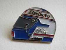 Pin's Vintage Collector Lapel Pin Advertising Marlboro Alain Prost Lot D018