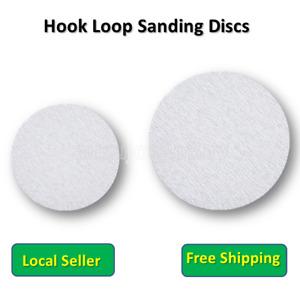 """180mm 7"""" 225mm 9"""" Hook Loop Discs Sanding Pads Orbital Sander Metal Wood"""