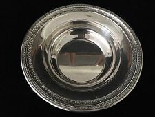 """Vintage Reed & Barton Silverplate #1203 Round Serving Bowl, 10"""" D x 2 1/4"""" High"""