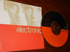Electronic 1991 by Electronic - CD & Inlay