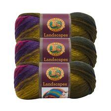 Lion Brand Yarn 545-210 Landscapes Yarn, Rain Forest (Pack of 3 skeins)