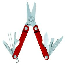 Leatherman Micra Red Aluminum Multitool YL64330181N