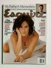 Esquire Magazine June 2003 - Carrie Anne Moss, David Sedaris