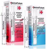 DermoFuture SCHLANGENGIFT SERUM Botoxeffekt + AUGEN ELIXIR Falten reduziert SATZ