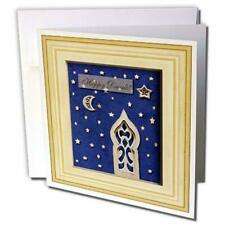 3dRose Temple, Diwali - Greeting Cards, 6 x 6 inches, set of 6 (gc_13065_1)
