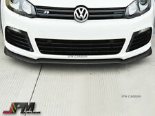 Carbon Fiber Front Bumper Spoiler for Volkswagen Golf VI MK6 R20 2012-2013 only