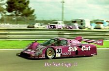 Warwick & Nielsen & Wallace Silk Cut Jaguar XJR-12 Le Mans 1991 Photograph 3