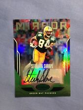 Sterling SHARPE Packers 2017 Panini CERTIFIED MIRROR Green AUTO #d 2/5  MS-SS