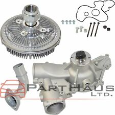 FIT Ford Excursion F-250 F-350 7.3L Diesel V8 Engine Water Pump + Fan Clutch Kit