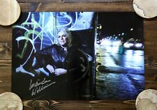 "LUCINDA WILLIAMS SIGNED POSTER 18"" X 12"" AUTOGRAPHED FULL-COLOR GENUINE!"