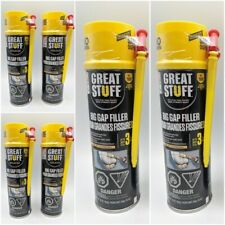 """(6 CANS) - Dow Great Stuff, BIG GAP FILLER Spray Foam Can 16 OZ. Fill up to 3"""""""