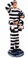 Wunderschöne Figur LAUREL HARDY DICK UND DOOF Gefangener Sträfling Werbefigur 81