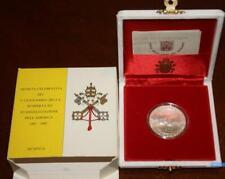 NL*VATICANO Giovanni Paolo II 500 Lire 1992 Evangelizzazione delle Americhe FDC