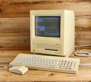 Vintage Apple Macintosh SE M5011 Computer, Keyboard & Mouse in Macbag