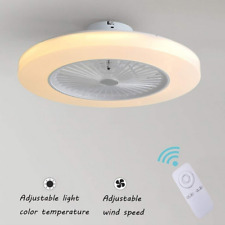Ceiling Fan With Light Kit Remote Control Led Lamp Dimmable Living Room Bedroom