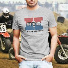 Vintage Style Team ATC Honda 350X 250 R Big Red 3 Wheeler Race T-Shirt Tee Shirt