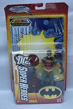 DC Superheroes Robin 6 inch Action Figure Yellow Package Mattel NIP S104-1
