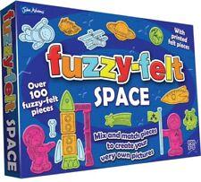 FUZZY FELT SPACE SET over 100 pieces ROCKET Cosmos Astronaut - John Adams