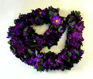 Daisy Garland 5ft Artificial Faux Silk Flowers Wedding Arch Gazebo Backdrop Fake