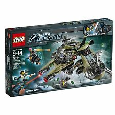 LEGO Ultra Agents Hurricane Heist Building Play Set 70164 NEW NIB