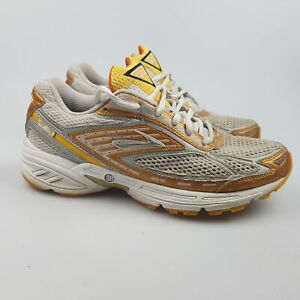 Women's BROOKS 'GTS 7' Sz 8 US Runners Shoes Grey Gold GCon | 3+ Extra 10% Off