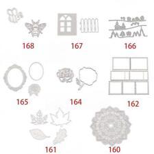 Patterns Metal Cutting Dies Stencil Scrapbooking Diy Album Stamp Paper Embossing