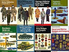 WW2 - uniforms, badges, insignias, weapons, transportation- 13 color books pdf