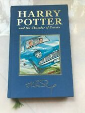 Harry Potter and the Chamber of Secrets Deluxe UK 1st Edition 1st Print - Rare