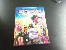 MONSTER HIGH FRIGHTS,CAMERA,ACTION(BLU-RAY +DVD +DIGITAL HD)BRAND NEW SEALED