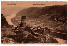 CPA SUISSE - DIe Mosel - Ruine Bischofstein