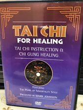 Tai Chi For Healing Tai Chi Indtruction Et Chi Gung Healing By Mark Johnson Dvd