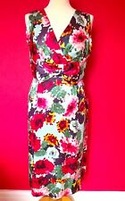 Phase Eight Silk Floral Print Dress Size 14