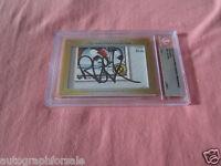 Rob Blake 2013 Leaf Masterpiece Cut Signature 1/1 signed autographed card JSA
