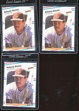 1988 Fleer Glossy U-122 Roberto Alomar 3 card lot