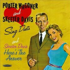 Sing Duets/Here's the Answer by Porter Wagoner/Skeeter Davis (CD, Jun-2013, Sepia Records)