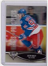 JUSTIN BAILEY 12/13 ITG H&P Class of 2013 3D Rookie RC #197 SP 3-D Rangers