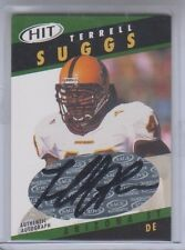 2003 Sage Hit Terrell Suggs Auto #A43 NM Cond.