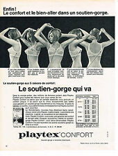 PUBLICITE  1965   PLAYTEX  le soutien gorge