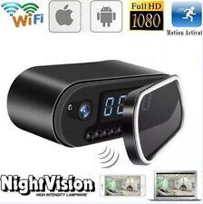Z10 HD 1080P WIFI IP Secret Camera Spy Clock IR Night Vision Wireless Camera DVR