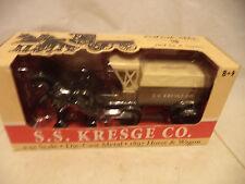 2002 1:32 Scale Die Cast 1897 Model Horse & Wagon Bank SS Kresge Ertl coin Bank