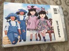 Butterick 4424 Twin Dolls & Clothes Sewing Pattern Jeri Hubbard Uncut