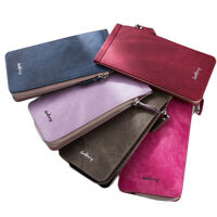 new leather wallet 24 id card holder pocket purse money bag for man woman teen