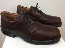 Men's Ecco City Brown Leather Oxford Shoes Size 45 US 11-11.5