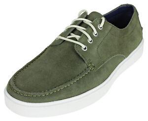 Cole Haan Men's Bergen Moc Oxford Shoes - Fatigue Suede