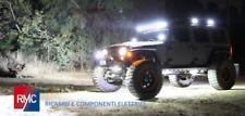 Fari Faretti 12v a led fanali supplementari abbaglianti per fuoristrada 4x4 jeep