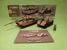 CORGI 69901 BRITISH ARMY CENTURION MKIII TANK + SALADIN ARMOURED CAR - GCIB
