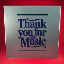 VARIOUS Thank You For The Music 1984 UK 8 X vinyl LP box set READERS DIGEST EXCE